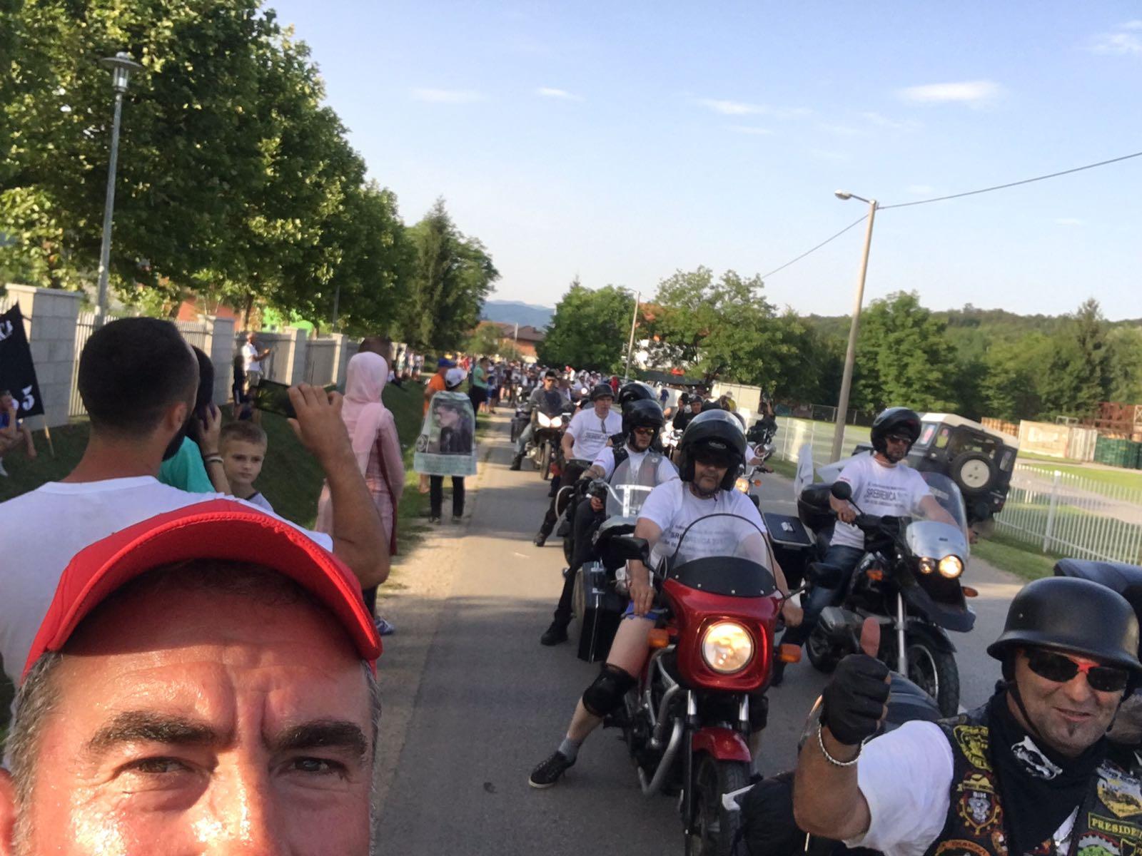 BOSNA'DA 'BARIŞ YÜRÜYÜŞÜ'