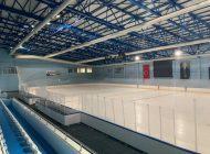 Olimpik Buz Hokey salonu yeniden hizmette