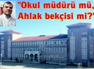 Şehit Polis İsmail Özbek İlk ve Ortaokulu Müdürü Ergin Kırbıyık'a tepkiler sürüyor