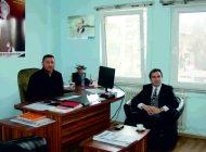 Kestel Kaymakamı Ahmet Karakaya'dan ziyaret