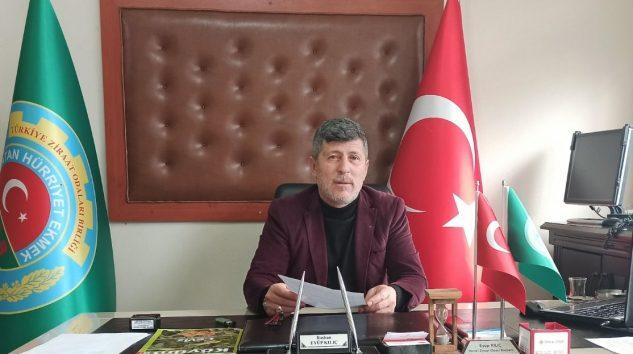 KESTEL ZİRAAT ODASINDAN ORHAN SARIBAL'A TEPKİ