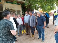 TZOB afetten zarar gören çiftçilerin yanında…