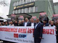 CHP İl başkanı Karaca'dan yetersiz sağlık hizmeti tepkisi