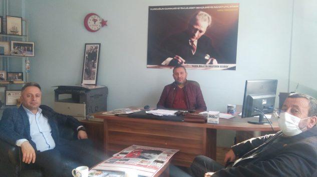 Kestel ve Köyleri Kültür Yaşatma Derneğinden Gazetemize ziyaret