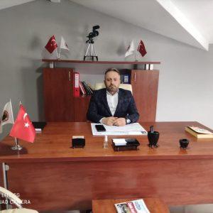 Deva Partisinde İlçe Başkanı Turgay Erdoğmuş