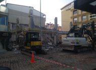 Kestel'de Belediye Fırını Yıkıldı