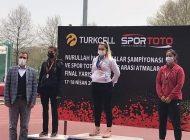 ATLETİZMDE TÜRKİYE ŞAMPİYONU KESTEL'DEN